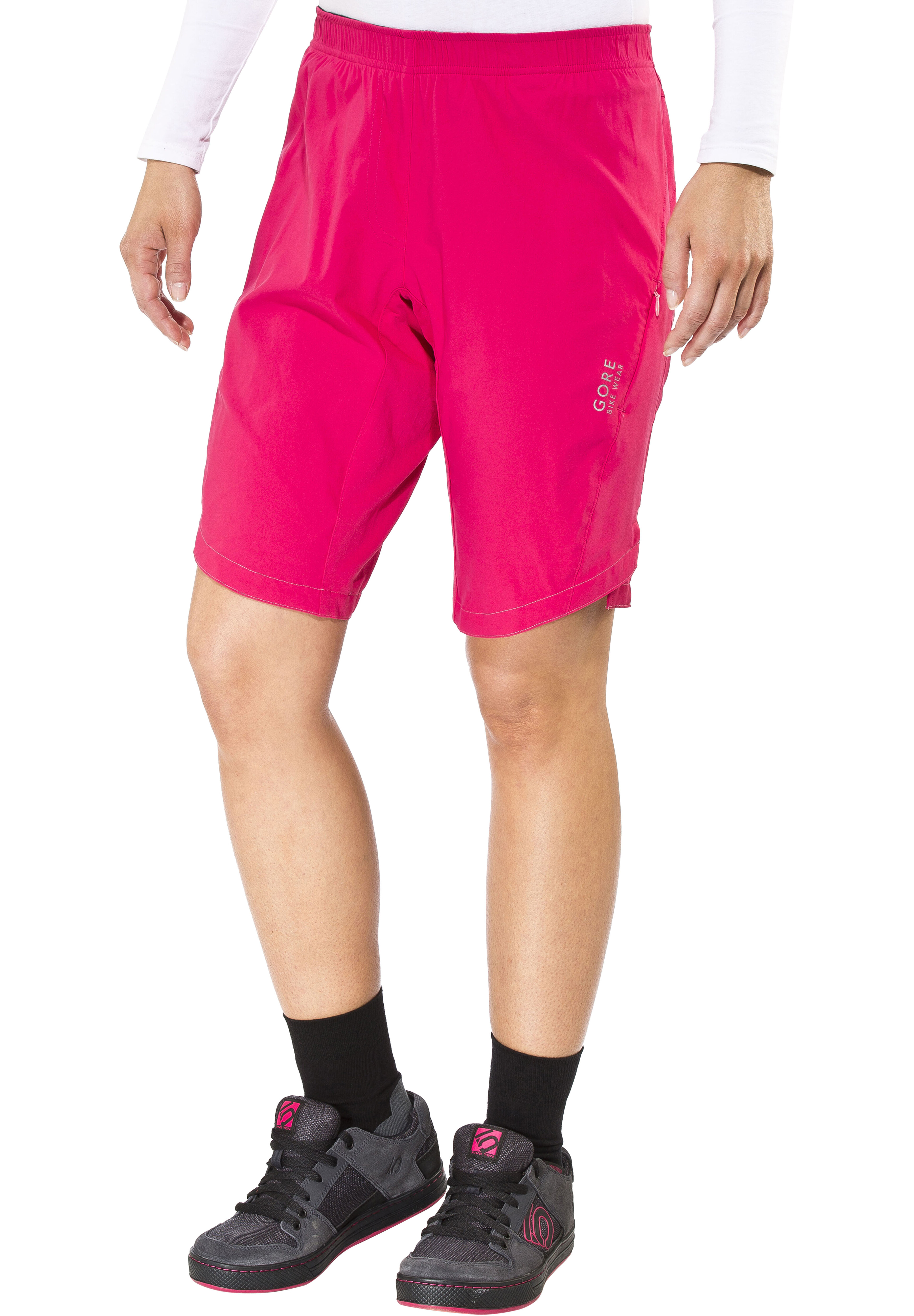 Gore Bike Wear Element Cycling Shorts Women Pink At